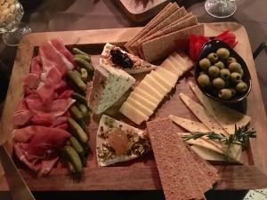 Wine and Cheese night platter